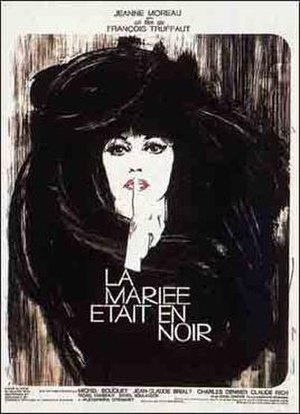 The Bride Wore Black - The original theatrical poster
