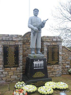 Martin Hurson - Image: Martin Hurson monument