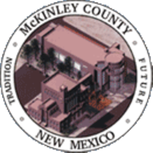 McKinley County, New Mexico - Image: Mc Kinley County nm seal