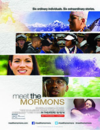 Meet the Mormons - Theatrical release poster