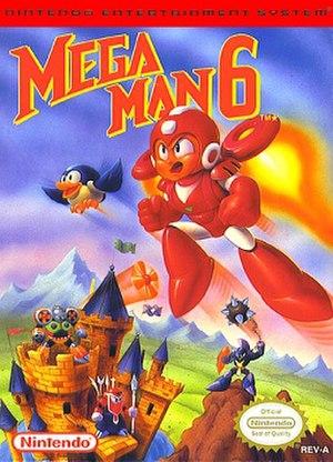 Mega Man 6 - North American box art
