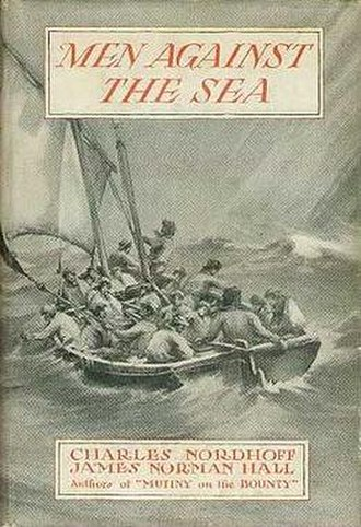 Men Against the Sea - First edition