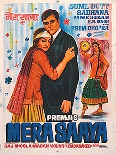 <i>Mera Saaya</i> 1966 Indian film directed by Raj Khosla