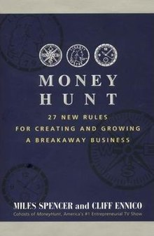 The cover of the book, MoneyHunt.