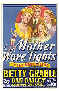 <i>Mother Wore Tights</i> 1947 film by Walter Lang
