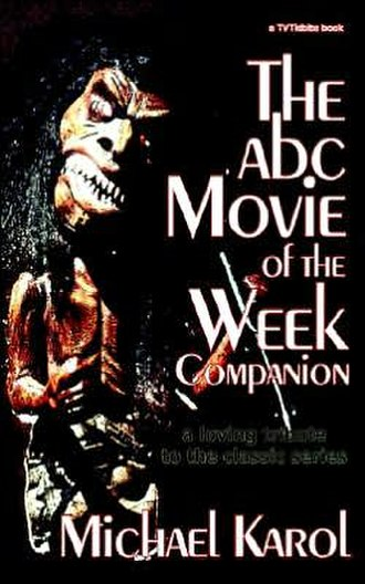 ABC Movie of the Week - The cover shows the Zuni Doll from Trilogy of Terror.
