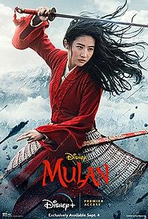 <i>Mulan</i> (2020 film) 2020 film by Niki Caro
