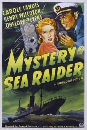 Mystery Sea Raider - Film poster
