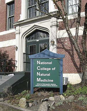 Naturopathy - National University of Natural Medicine trains students in naturopathic medicine who are eligible to become licensed in some jurisdictions in North America.