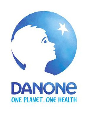 Danone - New corporate logo revealed in June 2017