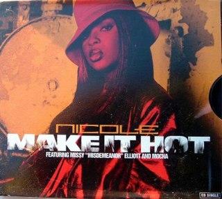 Make It Hot (Nicole Wray song) single by Missy Elliott and Nicole Wray