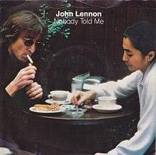 John Lennon — Nobody Told Me (studio acapella)