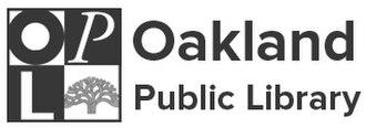 Oakland Public Library - Image: Oakland Public Library (logo)