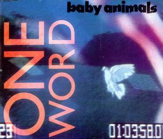 One Word (Baby Animals song) - Image: One Word AU by Baby Animals