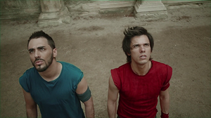 Ils sont cools - Gringe (left) and Orelsan before their fusion.