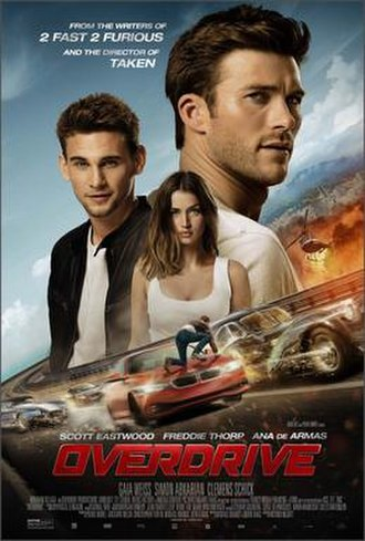 Overdrive (film) - Theatrical release poster