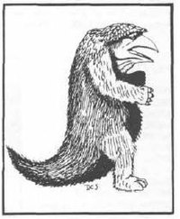 AD&D First Edition Monster Manual Owlbear