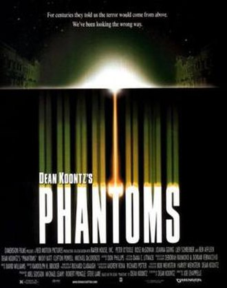 Phantoms (film) - Theatrical release poster