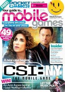 <i>Pocket Gamer</i> Website and magazine focused on mobile, portable, and handheld video games