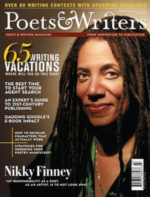 Poets & Writers - Image: Poets & Writers magazine (march april 2011 cover)