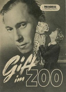 <i>Poison in the Zoo</i> 1952 film