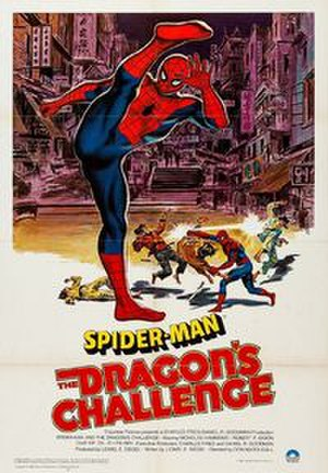 Spider-Man: The Dragon's Challenge - United Kingdom theatrical release poster