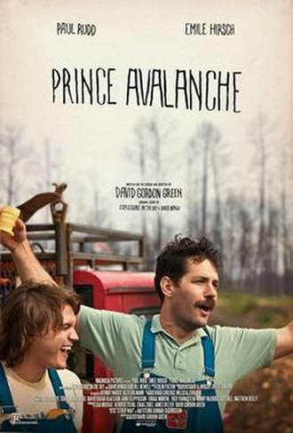 Prince Avalanche - Theatrical release poster