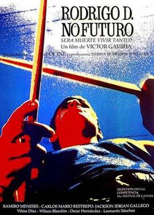 Rodrigo D: No Future - Theatrical release poster
