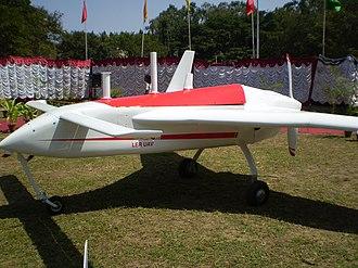 DRDO Rustom - Rustom-1 UAV prototype