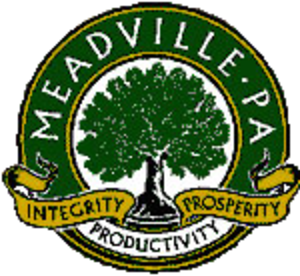 Meadville, Pennsylvania - Image: Seal of Meadville