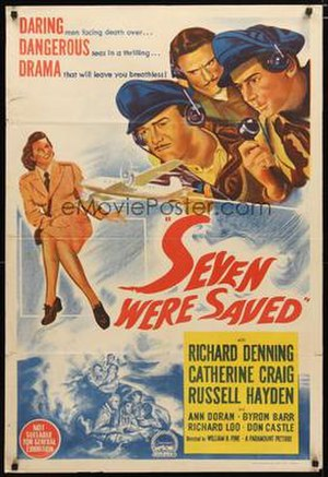 Seven Were Saved - Film poster