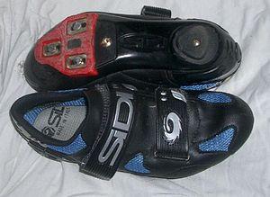 Cycling shoe - Sidi women's road cycling shoe using three-bolt cleat