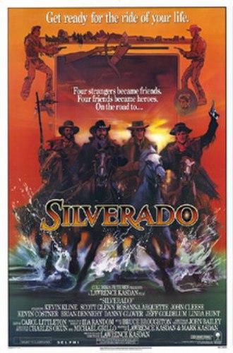 Silverado (film) - Theatrical release poster