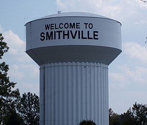 Smithville, Tennessee - Smithville Watertower