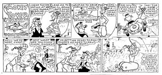 Smokey Stover - Bill Holman's Smokey Stover (July 16, 1961)