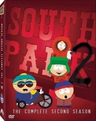 South Park (season 2) - DVD cover