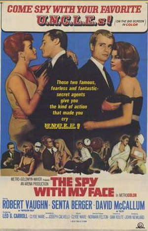 The Spy with My Face - Image: Spy With My Face Poster