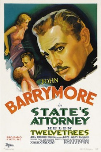 State's Attorney (film) - Theatrical Poster