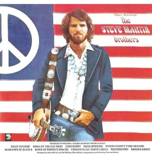 The Steve Martin Brothers - Back cover of The Steve Martin Brothers