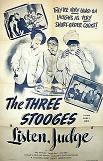 <i>Listen, Judge</i> 1952 American film by Edward Bernds