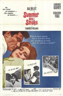 <i>Summer and Smoke</i> (film) 1961 film by Peter Glenville