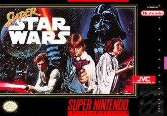 Super Star Wars - Cover art (Super NES)