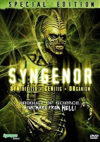 Syngenor - DVD cover art