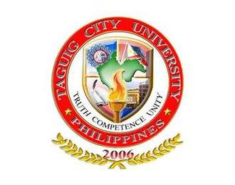 Taguig City University - Image: TCU New Logo