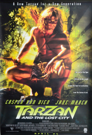 Tarzan and the Lost City (film) - Theatrical poster