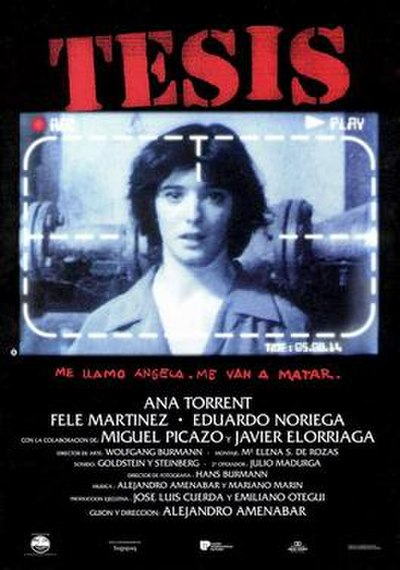 Picture of a movie: Tesis