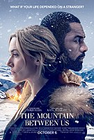 Picture of a movie: The Mountain Between Us