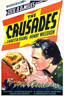 <i>The Crusades</i> (film) 1935 film by Cecil B. DeMille