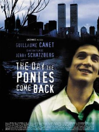 The Day the Ponies Come Back - French film poster