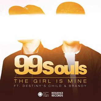 99 Souls featuring Destiny's Child and Brandy — The Girl Is Mine (studio acapella)